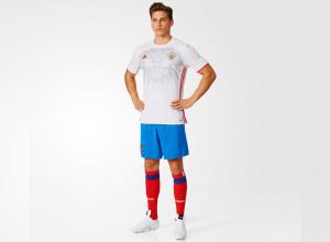 Russie Euro 2016 tenue de foot exterieure Adidas