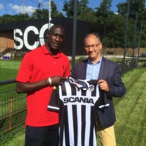 SCO Angers 2016 nouveau maillot domicile 15-16