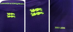 SM Caen 2016 details maillot exterieur 2015 2016