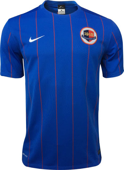 SM Caen 2016 maillot domicile officiel football 15-16