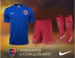 SM Caen 2016 maillot short domicile 15-16