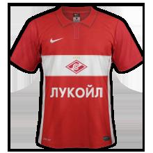 Spartak Moscou 2016 maillot domicile 15-16