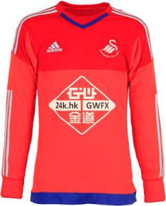 maillot gardien Swansea 15-16