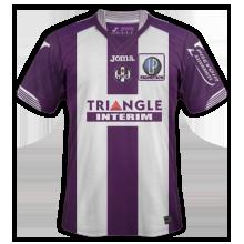 Toulouse 2016 maillot domicile 15-16 TFC