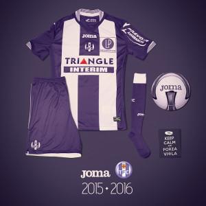 Toulouse 2016 maillot domicile TFC 2015 2016