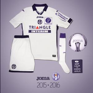 Toulouse 2016 maillot exterieur TFC 2015 2016
