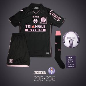 Toulouse 2016 troisieme maillot third TFC 2015 2016