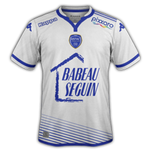 Troyes 2016 ESTAC maillot exterieur football