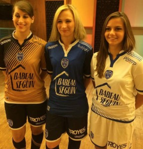 Troyes 2016 maillots de football