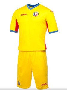 Roumanie 2015 maillot domicile 15-16