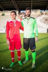 AC Ajaccio 2016 maillots gardien 15-16