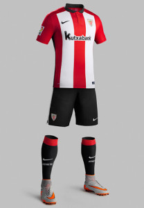 Athletic Bilbao 2016 tenue foot domicile 15-16