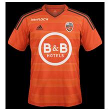 FC Lorient 2016 maillot domicile 15-16