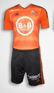 FC Lorient 2016 maillot domicile 2015-2016