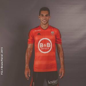 FC Lorient 2016 maillot domicile foot
