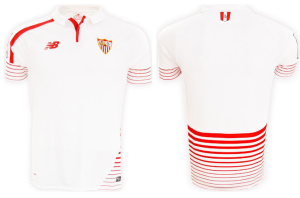 FC Seville 2016 maillot domicile face dos 15-16
