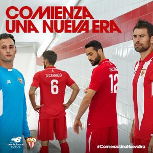 FC Seville 2016 maillot exterieur presentation
