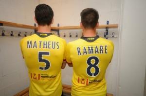 FC Sochaux 2016 maillot domicile dos flocage 15-16