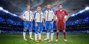 Italie 2015 2016 maillot exterieur football blanc