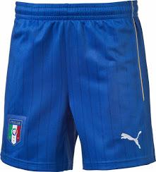 Italie 2015 2016 short de foot exterieur
