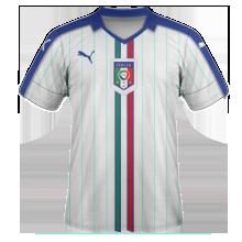 Italie 2016 maillot exterieur Euro 2016
