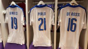 Italie Euro 2016 flocage maillot exterieur