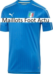 Italie Euro 2016 maillot domicile de foot