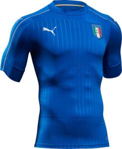Italie Euro 2016 maillot domicile de football