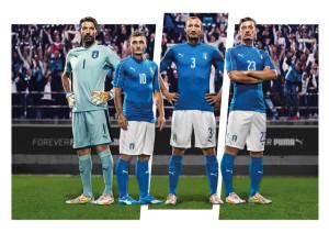 Italie Euro 2016 maillot domicile officiel Puma