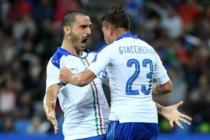 Italie Euro 2016 maillot exterieur football