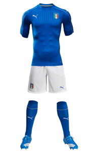 Italie Euro 2016 tenue de football domicile