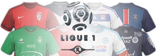 maillots foot Ligue 1 2016 L1