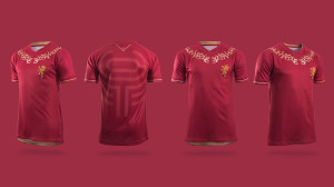 maillot de football maison Lannister GOT