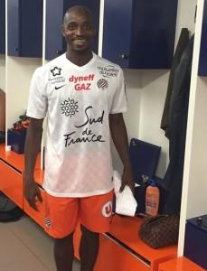 MHSC 2016 maillot exterieur foot Montpellier 15-16