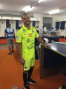 MHSC 2016 maillot gardien jaune Montpellier 15-16