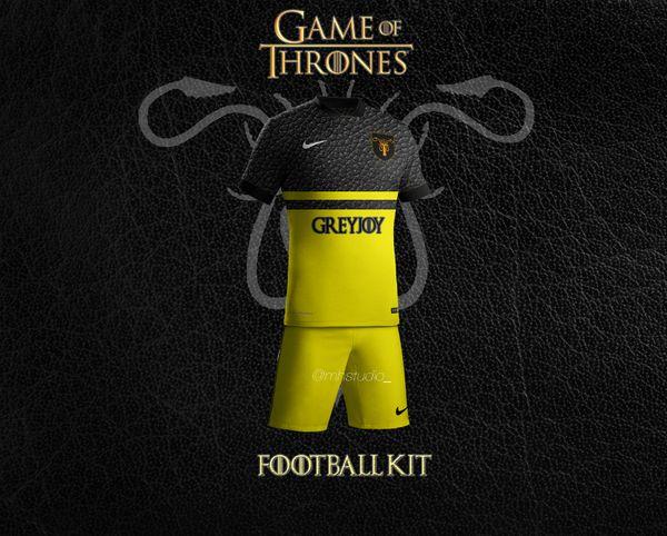 Maillto de football Greyjoy