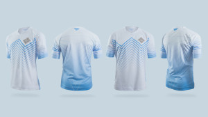 le maillot de football marcheurs blancs Game of Thrones white walkers