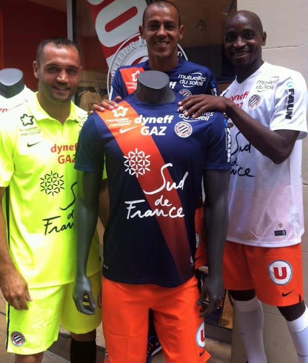 Montpellier 2016 mhsc les maillots de foot 2015 2016 - Logo montpellier foot ...