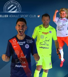 Montpellier 2016 MHSC maillots de football 15-16