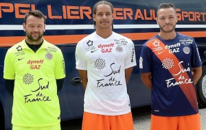 Montpellier 2016 MHSC maillots de football