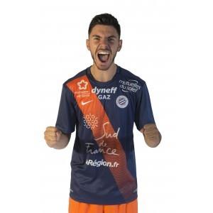Montpellier 2016 maillot domicile officiel 2015-2016