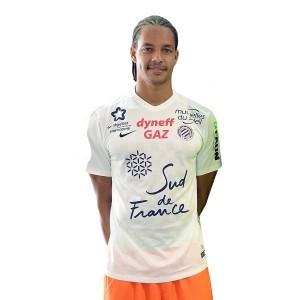 Montpellier 2016 maillot exterieur officiel 2015-2016