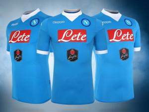 Naples 2016 maillot domicile officiel