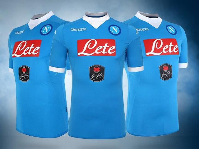 Maillot Domicile Napoli de foot