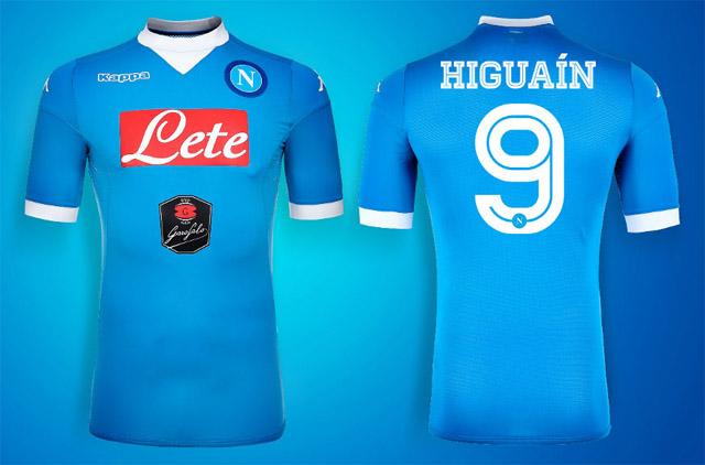 Naples 2016 maillots de foot Napoli 15-16
