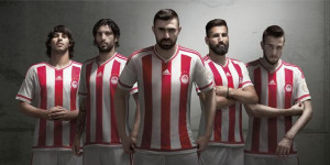 Olympiacos 2016 maillot domicile 15-16