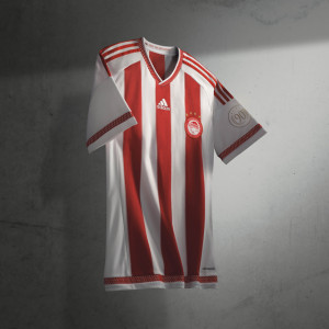 Olympiacos 2016 maillot domicile 15-16 officiel
