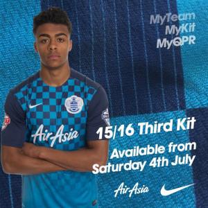 QPR 2016 maillot third 15-16