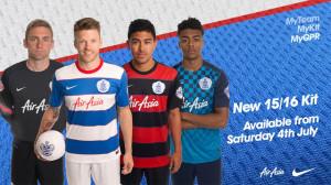 QPR 2016 maillots de football