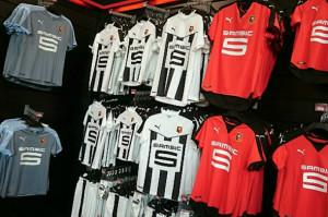Rennes 2016 les maillots de foot 2015-2016